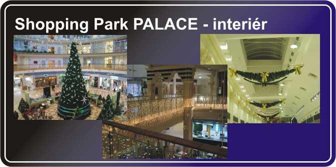 Projekt interiéru - Shopping part Palace